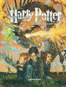 Harry Potter och den flammande bägaren ljudbok