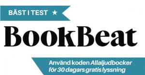 Bookbeat ljudböcker bäst i test